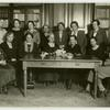 Seated l. to r. : 1. Vambery, Melanie, 2. Havas, Mrs. Miksa, 3. Szirmay, Mrs. Irma, 4. Unknown, 5. Glucklich, Vilma, 6. Miller, Eugenie Miskolozi, 7. Unknown. Standing l. to r.: 1. Kunfi, Nora, 2. Unknown, 3. Fekete, Gizella, 4. Kozma-Glucklich, Klara, 5. Fekee, Mrs., 6. Polányi-Stricker, Laura, 7. Unknown.