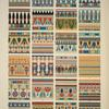 Egyptian no. 4: various cornices, formed by the pende[...] lotus.