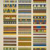 Egyptian no. 5: ornaments from mummy cases in the British Museum and the Louvre.