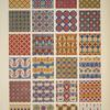 Egyptian no. 7: ornaments with curved lines from ceilings of tombs.