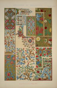 Medieval Ornament Illuminated ... Digital ID: 1540593. New York Public Library