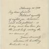 Susan B. Anthony, February 15, 1900.