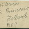 [Rosa Manus and Mia Boissevin, Holland, 1909.]