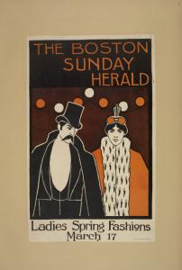 The Boston Sunday herald. Ladies spring fashions. March 17.