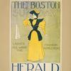 The Boston Sunday herald. Ladies all want the fashion supplement.