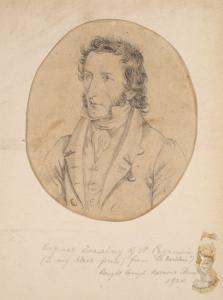 [Original Drawing of N. Paganini...]