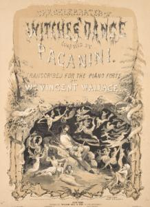 The Celebrated Witches Dance composed by Paganini.