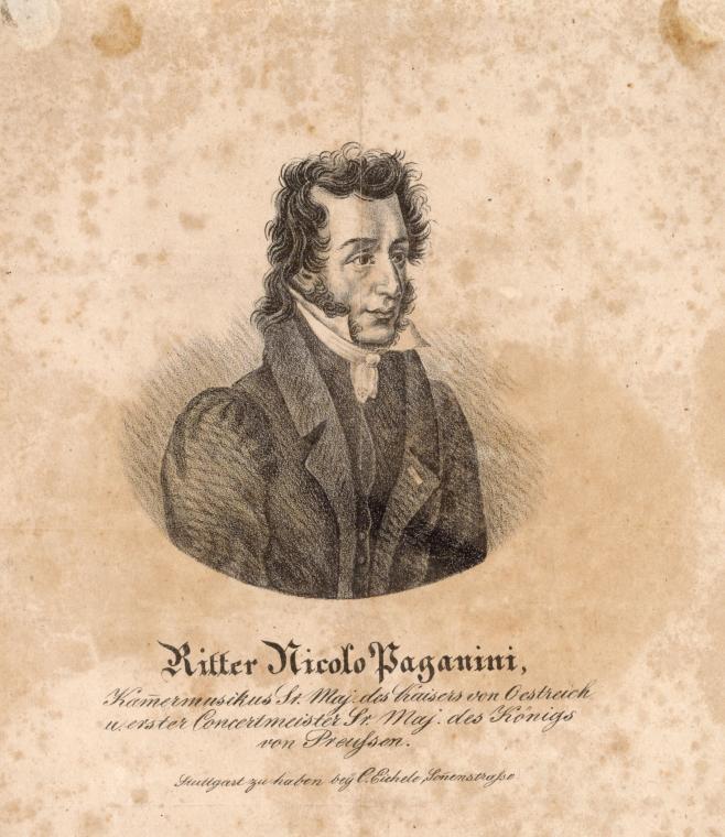 Ritter Nicolo Paganini.