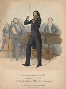 The Modern Orpheus. Opera House June 3rd 1831.
