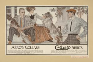 Arrow collars. Cluett shirts. Digital ID: 1541673. New York Public Library