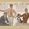 Arrow collars & shirts. Saturday evening post, April 12, 1913.