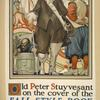 Old Peter Stuyvesant on the cover of the Fall style book
