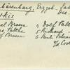 [Skiing, on slopes: Rarel Braese, Riese Palthe, Dolf Braese, Dolf Palthe, Richard Palthe...]