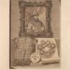 Zaglavnyi risunok : A – portret tsaria Alekseia Mikhailovicha; B – serebrianaia kol'chuga, khraniashchaiasia v Moskovskoi Oruzhrinoi Palate; C – Monomakhovy barmy; D – gerb Rossiiskoi imperii vremen tsaria Alekseia Mikhailovicha;