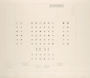 Persépolis. Palais no. 2. Plan général.