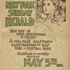 The New York Sunday herald. May day [...] May 5th 1895.