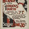 The New York Sunday herald for the glorious fourth. Sunday June 30th 1895.