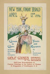 The New York Sunday herald. April12th 1896.