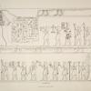 Darstellungen und Inschriften historischen Inhaltes aus dem Terrassentempel von Dêr-el Bah'eri in Ober-Aegypten, behandelnd vorzugsweise die im 17. Jahrhundert v. Chr. von Seiten der Königin Misaphris, Schwester Thutmosis III, nach Arabien entsendete Seeexpeidition (ausgenommen die Opferliste e auf Taf. V und die auf Taf. VI, welche zwei Thebanischen Privatgräbern entnommen sind.)