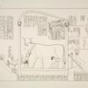 Einige mythologische Darstellungen und Bauinschriften aus den Räumen der 3. und 4. Terrasse.