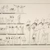 Darstellungen und Inschriften aus dem Grabe des Thebanischen Priesters Neferhotep, ausgenommen Taf. 40 b, welche Darstellung einem andern Thebanischen Grabe angehört.