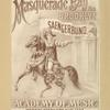 Grand masquerade ball of the Brooklyn Saengerbund.
