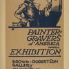 Painter-gravers of America annual exhibition