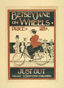 Betsy Jane on wheels.
