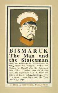 Bismark the man and the states... Digital ID: 1543279. New York Public Library