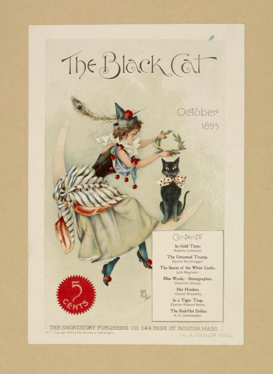 The black cat. October 1895.