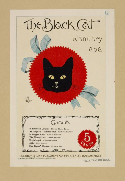 The black cat. January 1896.
