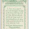 Thackeray.