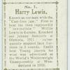 Harry Lewis.