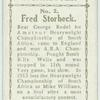 Fred Storbeck.