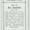 Joe Jeanette.