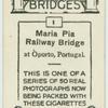 Maria Pia railway bridge.