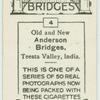 Anderson Bridges, Tessia Valley, India.