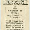 Chaupichaca Bridge.