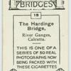 The Hardinge Bridge, River Ganges, India.