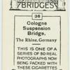 Colgone Suspension Bridge.