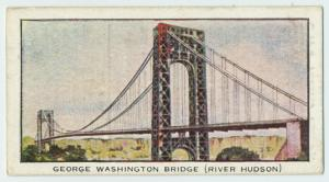 George Washington Bridge (River Hudson).