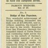 Bridge of San Francisco.