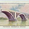 Potomac Memorial Bridge.