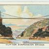 Clilfton Suspension Bridge.