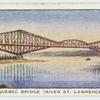 Quebec Bridge (River St. Lawrence).