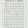 Captain H. S. Broad.