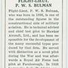 Flight-Lieut. P. W. S. Bulman.