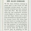 Sir Alan Cobham.