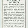 Captain G. De Havilland.