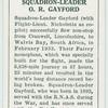Squadron-Leader O.R. Gayford.